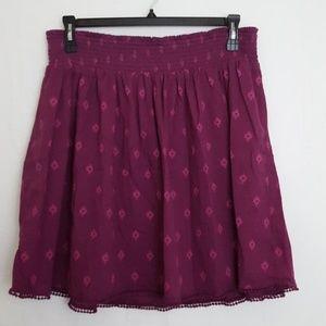 Old Navy Southwest Print Gauze Skirt XL Tall